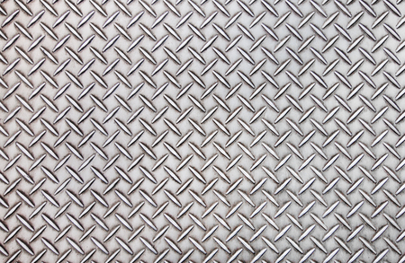 Old steel diamond plate pattern background texture. Stok Fotoğraf