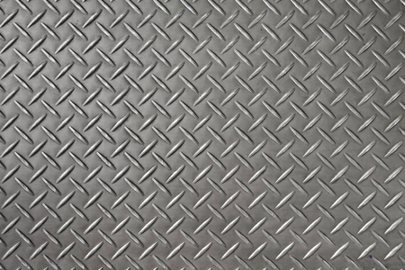 aluminium: Iron diamond plate background and texture.