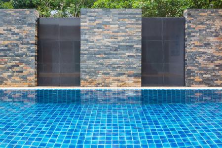 수영장 벽 배경입니다.