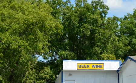 Old country beer store in Prosper Texas