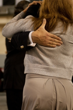 Tango scene in a milonga, Buenos Aires , Argentina Stock Photo - 14798984