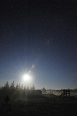 Stars at night in rural Manitoba, Canada