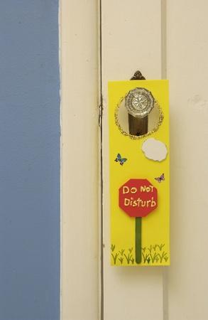 Do not Disturb sign Banco de Imagens - 9259843
