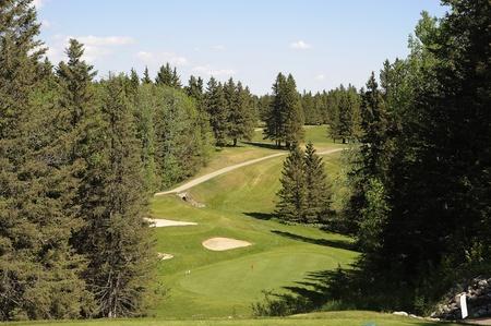 golfing at Riding Mountain National Park, Banco de Imagens