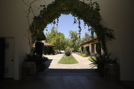 Bridlewood Estate Winery, Santa Ynez, California Stok Fotoğraf