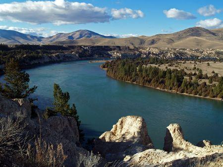 flathead: Flathead River - picture of river was taken in western MT.