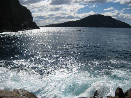 rocked: Ocean swell