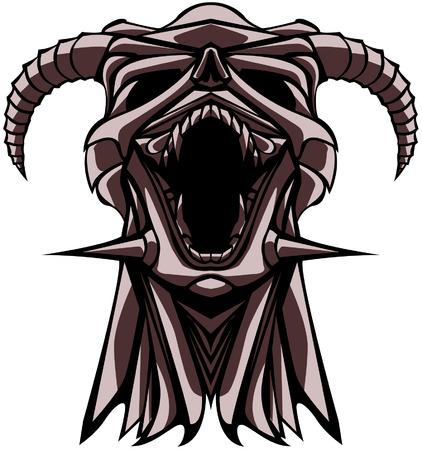 roar: robot skull roar