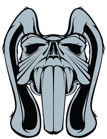 mutant: rabbit skull mutant long teeth