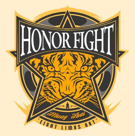 Muay Thai Honor Fight Tiger Spirit