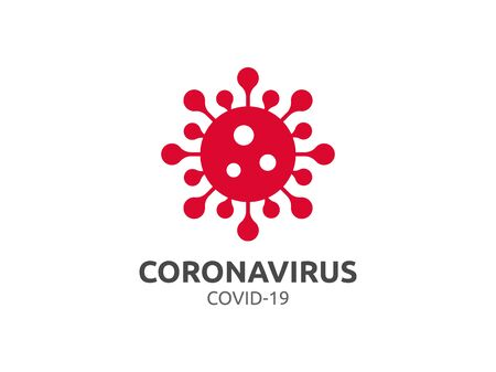 Corona Coronavirus covid-19 vector virus infection disease flu influenza pandemic Çizim