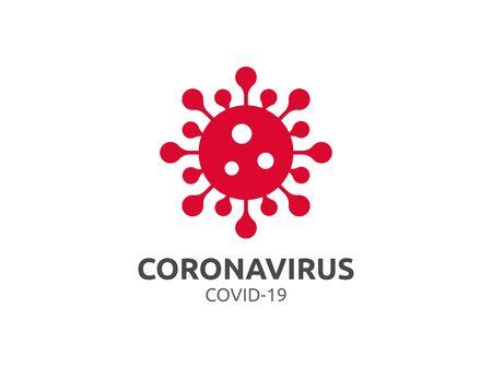 Corona Coronavirus covid-19 vector virus infection disease flu influenza pandemic Illustration
