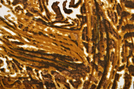 spotted fur: Brown leopard fur pattern with brown scribble. Mud like pattern. Spotted animal print as background.