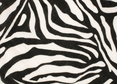 cebra: patrón de cebra en blanco y negro sobre la tela. patrón de cebra en blanco y negro sobre la tela.