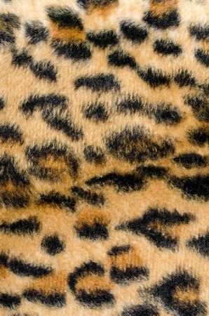 Brown leopard fur pattern. Animal print as background. Reklamní fotografie