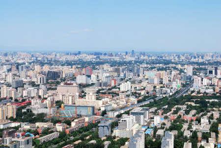 aero: aero view of beijing