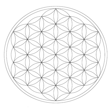 Grid for crystal meditation