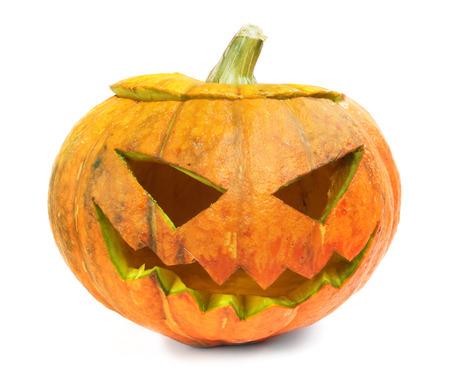 Halloween pumpkin isolated on white background Stock Photo - 22272340