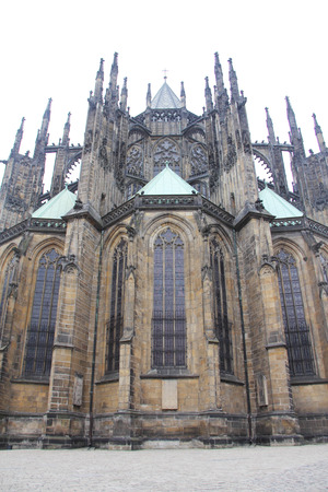 vitus: St. Vitus Cathedral in Prague ,Czech Republic