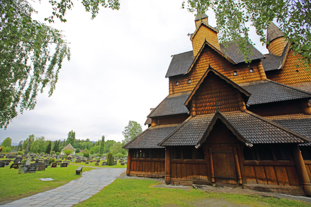stave: Heddal Stave Church in Telemark, Norway