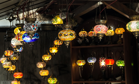 bosnia and hercegovina: Amazing handmade souvenirs in shop in Bosnia and Herzegovina.