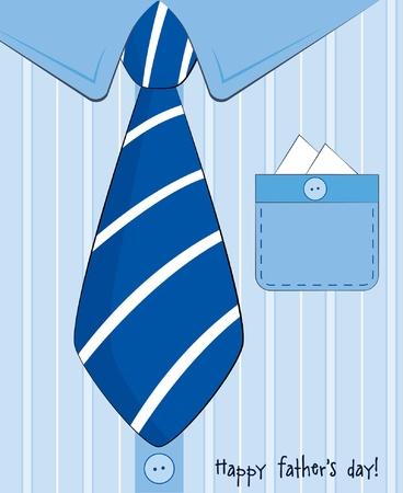 neckties: D�a del Padre tarjeta de felicitaci�n