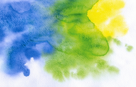 Watercolor abstract painted background