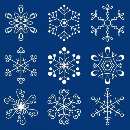 frozen: Christmas snowflakes