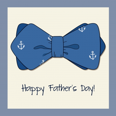 anchor man: Greeting card for man with bow tie