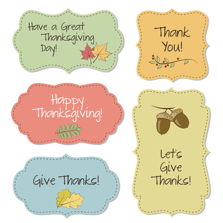 Thanksgiving frames Vector
