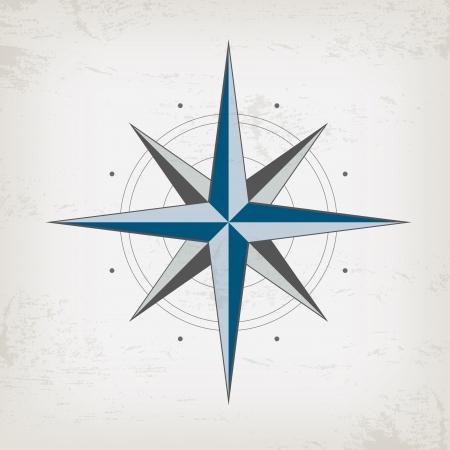 rosa dei venti: Scheda marine dell'annata con la bussola