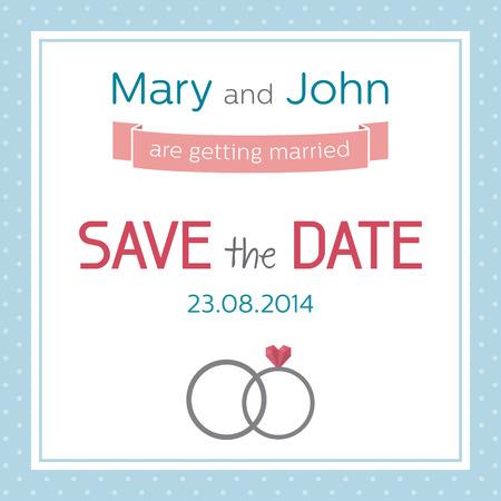 bridal couple: Wedding invitation, save the date