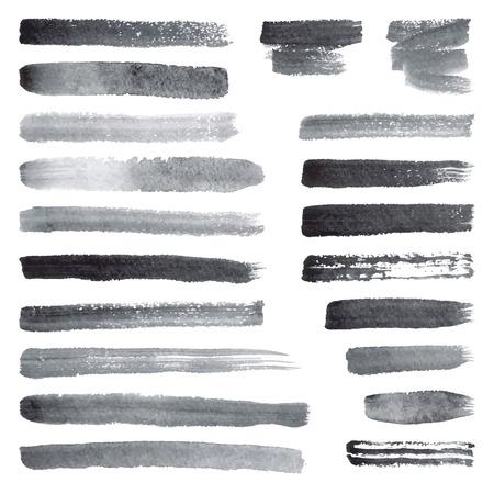 brush stroke: Watercolor brush strokes
