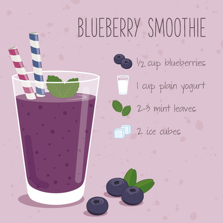 smoothie: Blueberry smoothie recipe