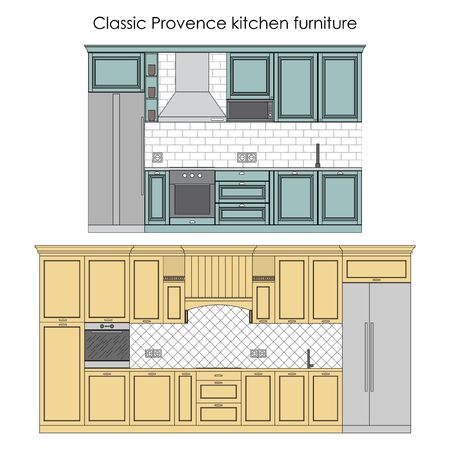 provence: Classic Provence kitchen furniture