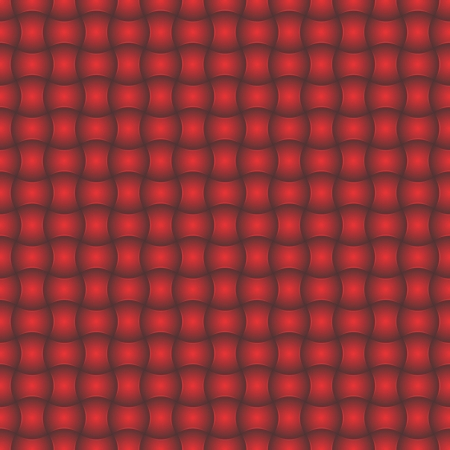 Abstract red background with 3D effect
