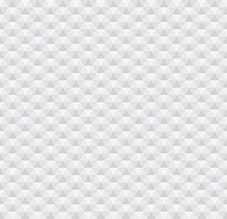Hexagonal white seamless pattern Vector