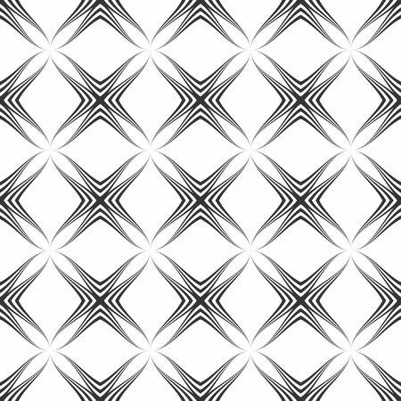 geometric shapes: Art Deco seamless vintage wallpaper pattern Illustration