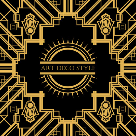 4 872 retro art deco frame vector stock illustrations cliparts and