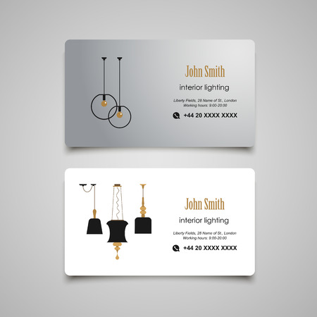Architecture developing or rent business card template royalty free interior and furniture designer business card template vector reheart Gallery