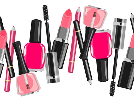 make up products: Beauty make up fashion cosmetics abstract background