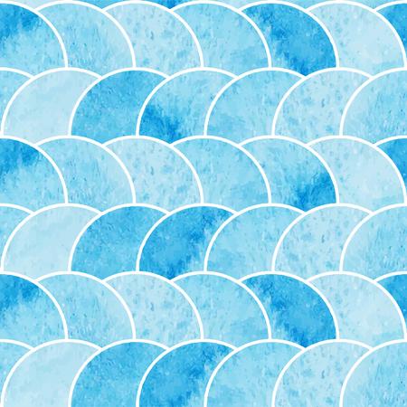 Waterverf abstract naadloze behang