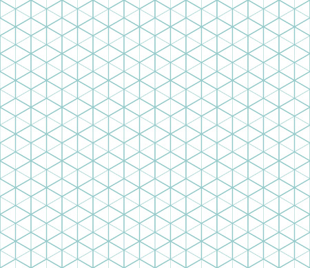 Hexagonal abstract connection seamless pattern Illustration