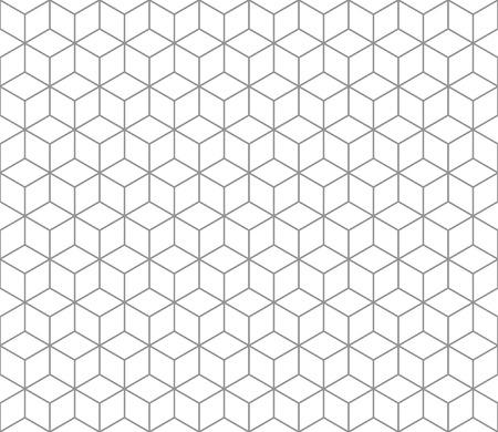 Zeshoekige abstract verbinding naadloos patroon
