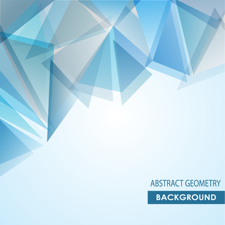 Brochure blue cover design template with abstract network connection concept background