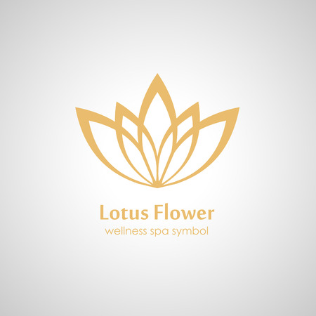 Lotus símbolo del icono Foto de archivo - 41643970