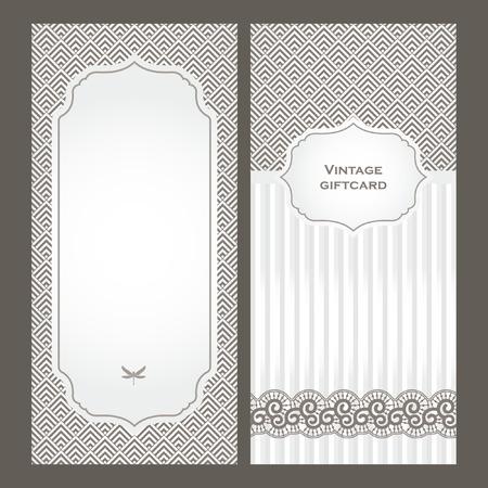 corner frame: Art Deco vintage decorative frame. Retro card design template