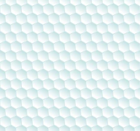hexagonal: Hexagonal blue background Illustration