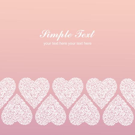 Roze Romantische achtergrond