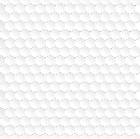 nectars: Hexagonal vector pattern with 3D effect